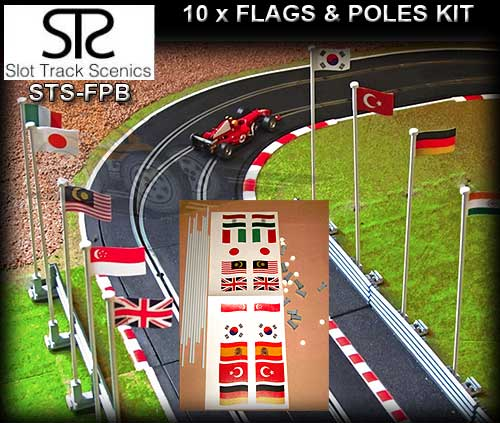 STS FLAGS FP-B - Flags and Poles (pack B)