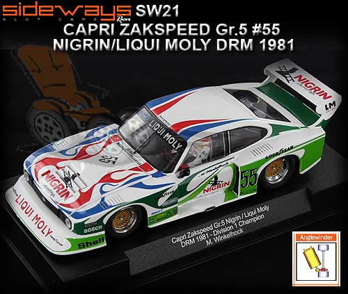 SIDEWAYS SW21 - Zakspeed Ford Capri Group 5 - Liqui Moly #55