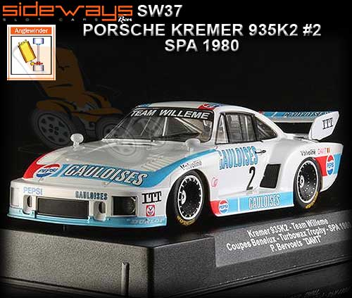 SIDEWAYS SW37 - Porsche 935 K2 - Team Willeme #2 - SPA 1980