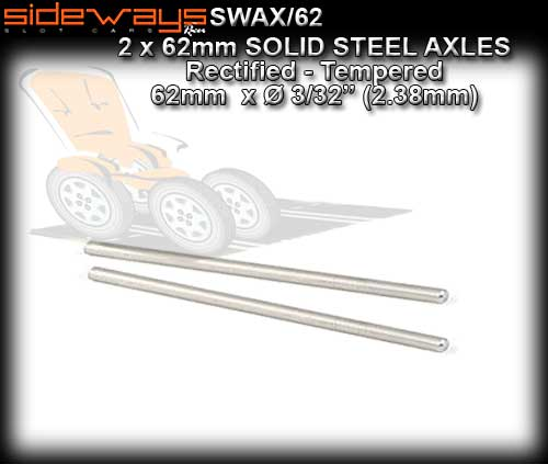 SIDEWAYS AXLE SWAX/62 - Axle 62mm 3/32'' 2.375mm