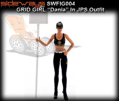 SIDEWAYS SWFIG004 - Dania - JPS Grid Girl
