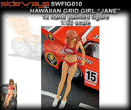 SIDEWAYS SWFIG010 - Jane - Hawaiian Grid Girl
