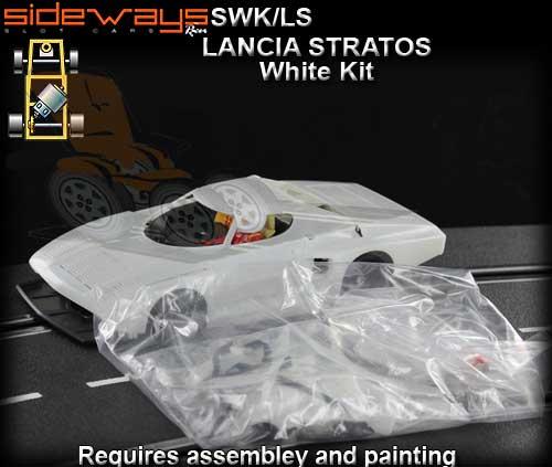 SIDEWAYS SWK/LS - Lancia StratosTurbo - unpainted car kit [SWK/LS