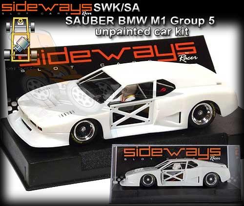 SIDEWAYS SWKSA - Sauber BMW M1 Group 5 - unpainted car kit [SWK/SA