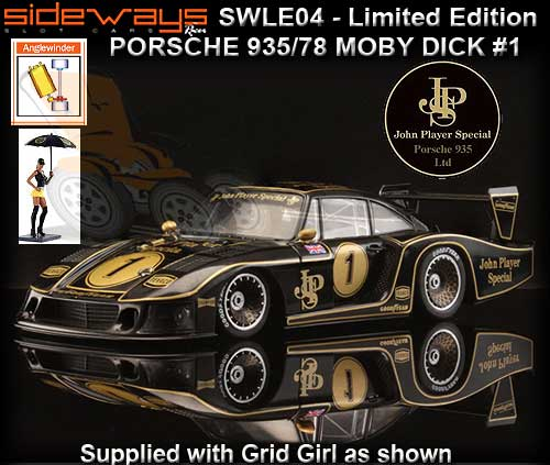 SIDEWAYS SWLE04 - Porsche 935/78 Limited Edition - JPS #1