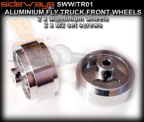 SIDEWAYS WHEELS SWW/TR01 - Front wheels for Fly trucks