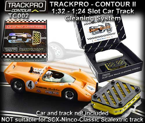 TRACK PRO CONTOUR TC002 - Slot Car Track cleaning system