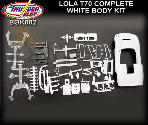 THUNDERSLOT BODY KIT BOK002 - Unpainted body - Lola T70 Can-Am