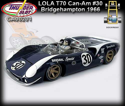 THUNDERSLOT CA00201 - Lola T70 Can-Am - Bridgehampton 1966 #30
