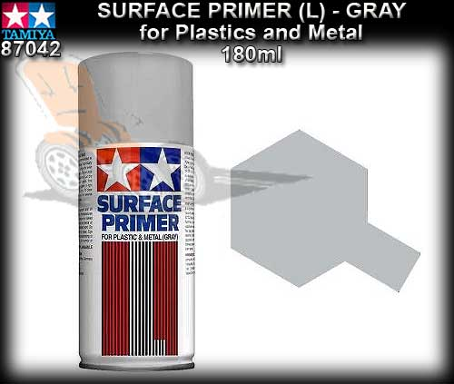 TAMIYA TS87042 - Grey Surface Primer for plastic & metal