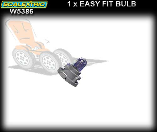 SCALEXTRIC LIGHT W5386 - Easy fit Bulb with holder