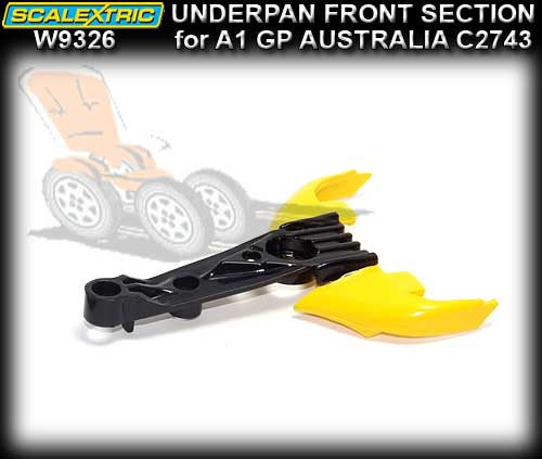 SCALEXTRIC UNDERPAN W9326 - Chassis Front Section A1 GP Aust.