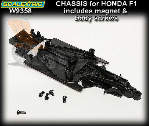 SCALEXTRIC CHASSIS W9358 - Chassis for Honda Racing F1