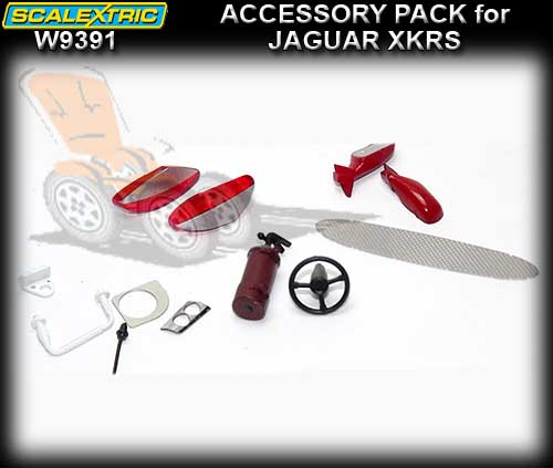 SCALEXTRIC ACCESSORY PACK W9391 - Accessory Pack Jaguar XKRS