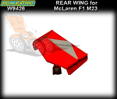 SCALEXTRIC WING W9426 - Rear Wing For McLaren M23