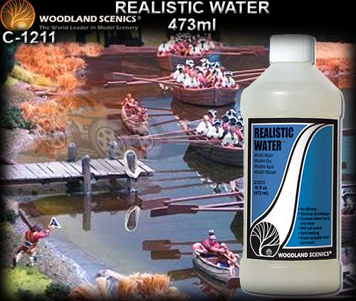 WOODLANDS SCENICS WATER REALISTIC C1211 - Realistic Water