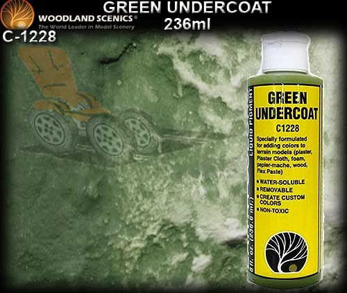WOODLANDS SCENICS UNDERCOAT C1229 - Green Undercoat