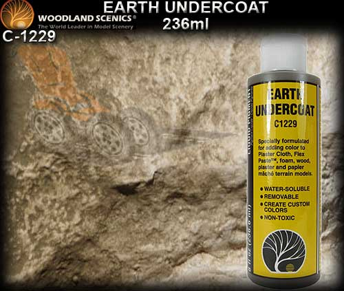 WOODLANDS SCENICS UNDERCOAT C1229 - Earth Undercoat