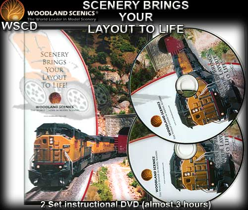 WOODLANDS SCENICS DVD R993 - Scenery Made Easy
