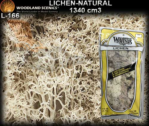WOODLANDS SCENICS LICHEN L166 - Natural Lichen