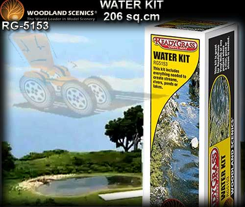 WOODLANDS SCENICS WATER RG5153 - Water Kit