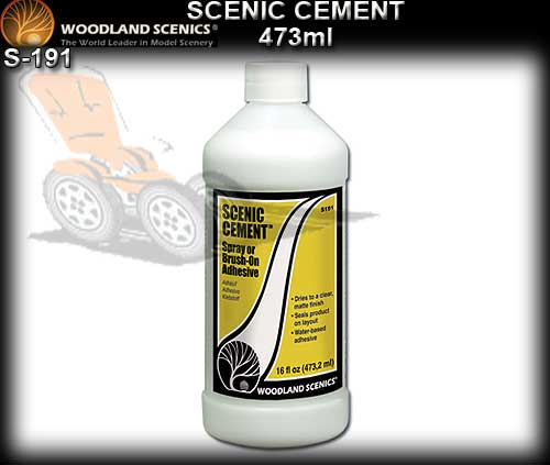 WOODLANDS SCENICS GLUE S191 - Spray or Brush on Adhesive