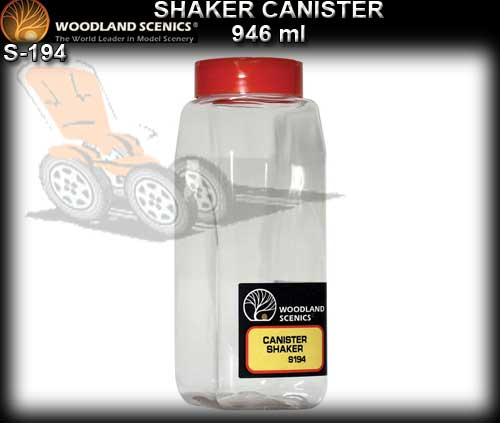 WOODLANDS SCENICS TOOLS S194 - Shaker Canister