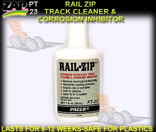 ZAP PT23 - RAIL ZIP - HIGH TECH CONCENTRATED TRACK CLEANER