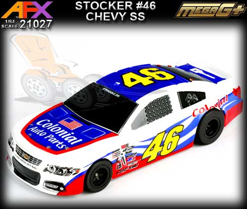 AFX HO 21027 - Chevrolet SS Stocker #46